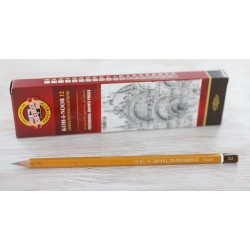Harilikud pliiatsid KOH-I-NOOR, 1500/5B