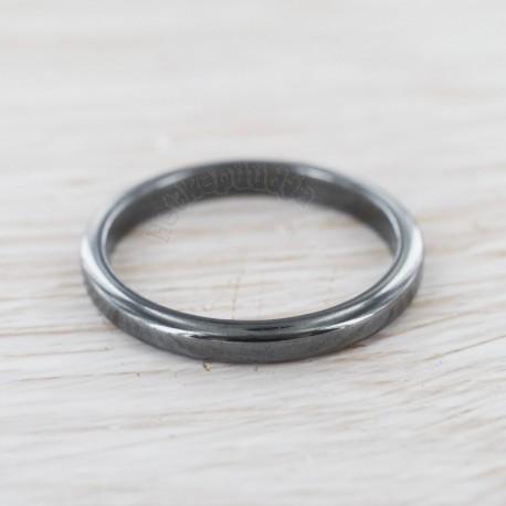 Hematiit sõrmus kitsas