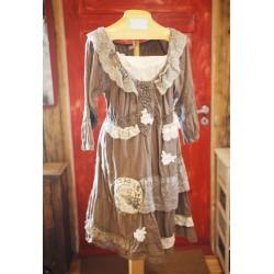 Taaskasutatud materjalidest diainitud kleid