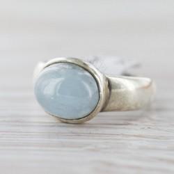 Akvamariiniga sõrmus 17,75