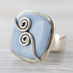 Andide sinise opaaliga sõrmus 19