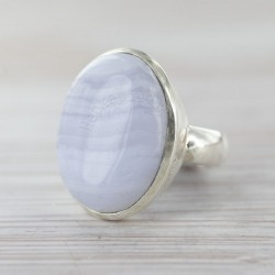 Sinise pitsahhaadiga sõrmus 17