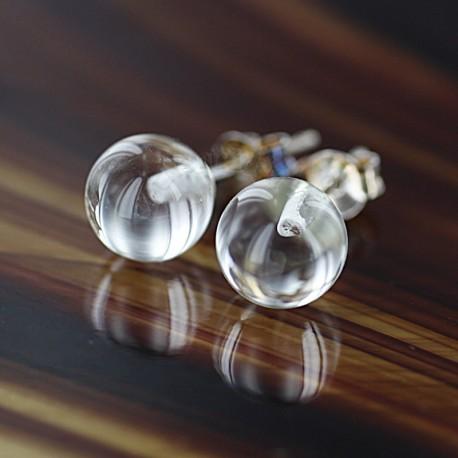 Mäekristalliga kõrvarõngad 8mm