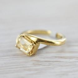Tsitriiniga sõrmus 16,5