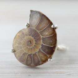 Ammoniidiga sõrmus 18