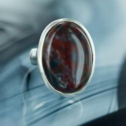 Heliotroop sõrmus s.17,5