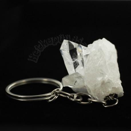 Mäekristall tippudega võtmehoidja
