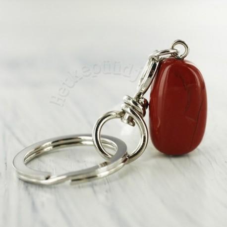 Punane jaspis võtmehoidja